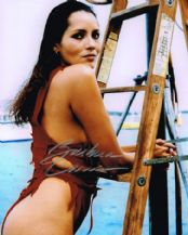 Barbara Carrera Autograph Signed Photo - James Bond